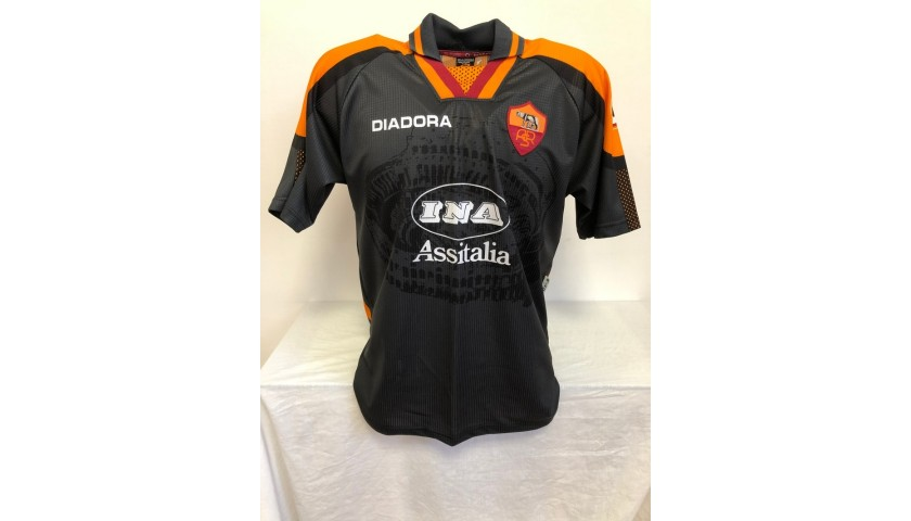 Aldair's Official Roma Signed Shirt, 1997/98