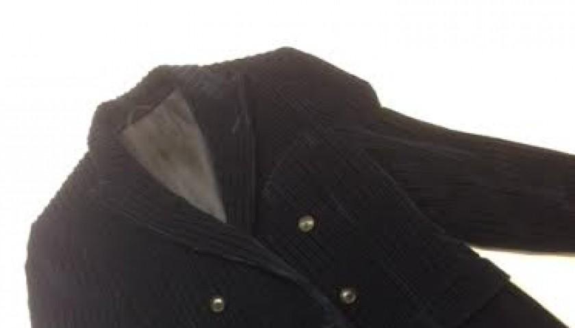 Mika worn blazer jacket by Trussardi