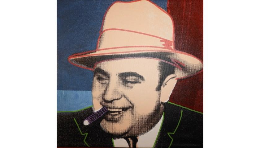 """Al Capone"" by Steve Kaufman"