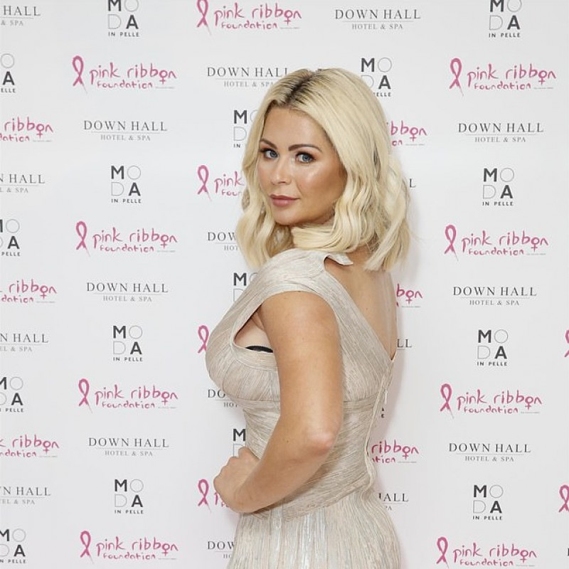Metallic The Vestry Dress Worn by Nicola McLean