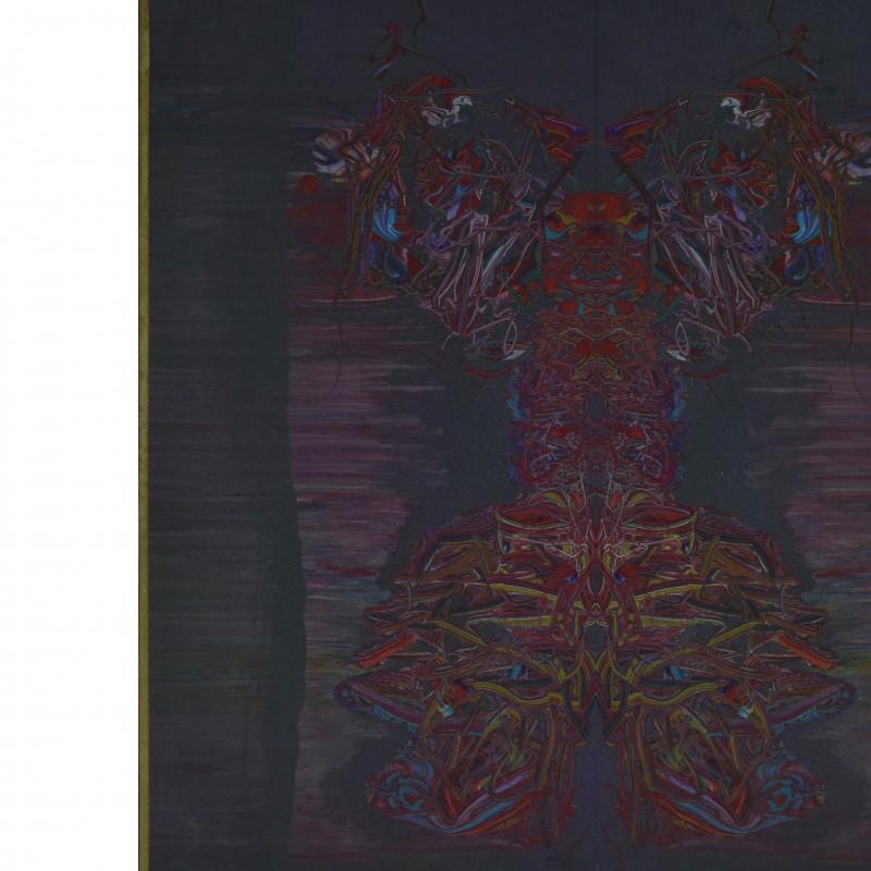 """Oigroig"" realized by Nuvolo (Giorgio Ascani), 1967"