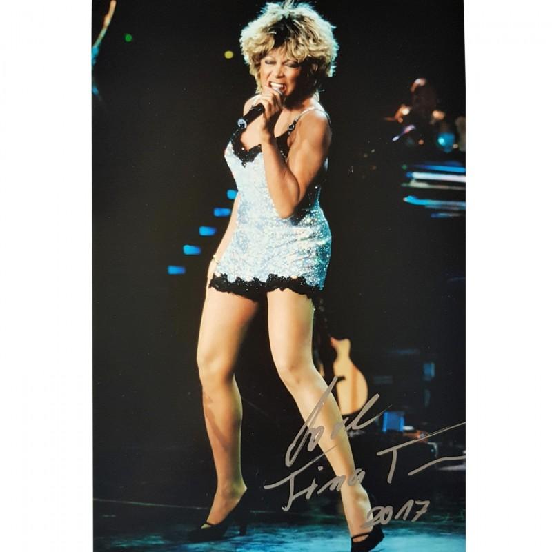 Tina Turner Signed Photograph