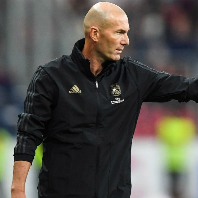 Zidane's Official Real Madrid Signed Shirt, 2019/20
