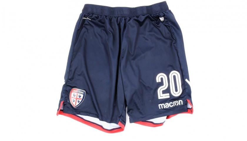 Padoin's Worn Shorts, Cagliari-Juventus 2019