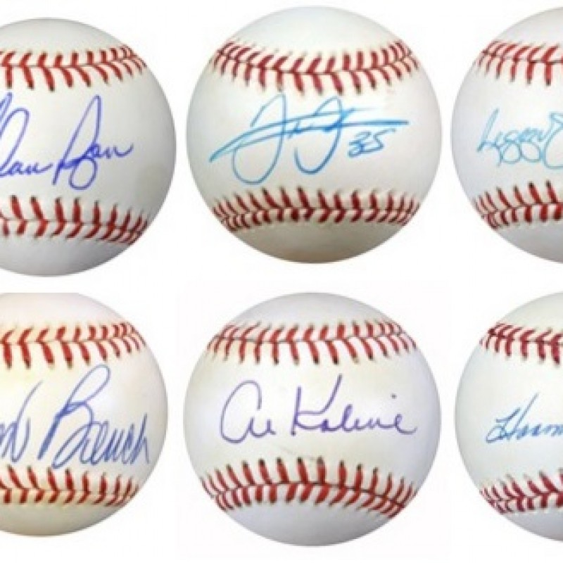 Baseball Legends Mystery Box: Hand Signed Baseball