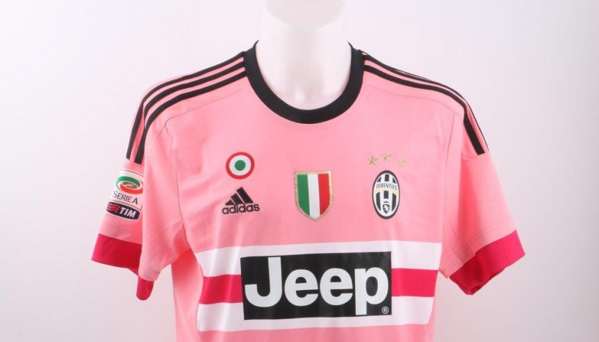 Official Barzagli Juve shirt, Serie A 15/16 - signed by the players - CharityStars