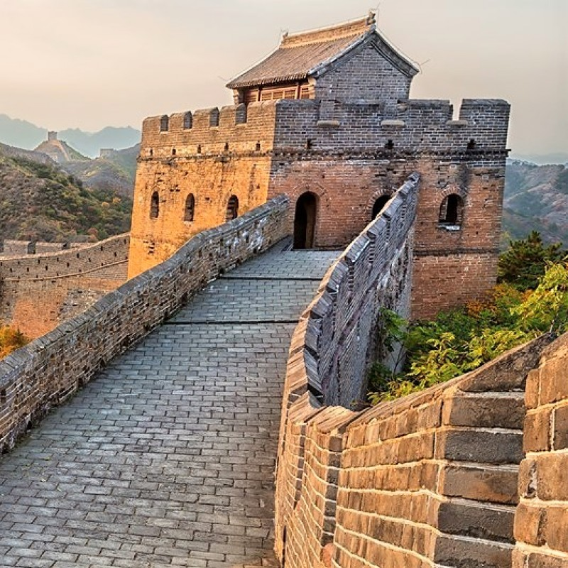 Private Breakfast on the Great Wall of China for 2