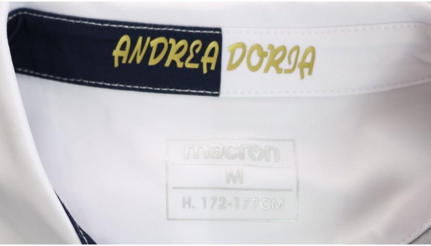 Ramirez's Match-Issued Kit, Sampdoria-Milan 2020, SPECIAL 120 Years Andrea Doria