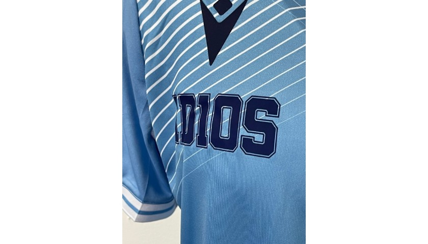 Luis Alberto's Match Shirt, Lazio-Udinese 2020 - AD10S Patch