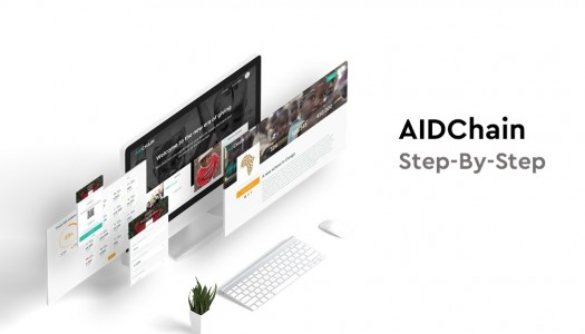 AidChain step by step