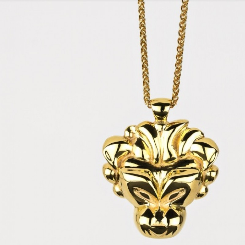 Lio necklace in silver and gold
