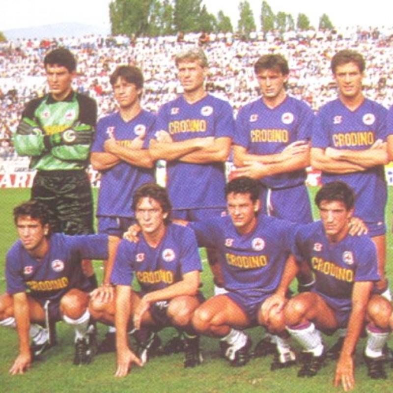 Dunga's Official Fiorentina Kit, 1988/89