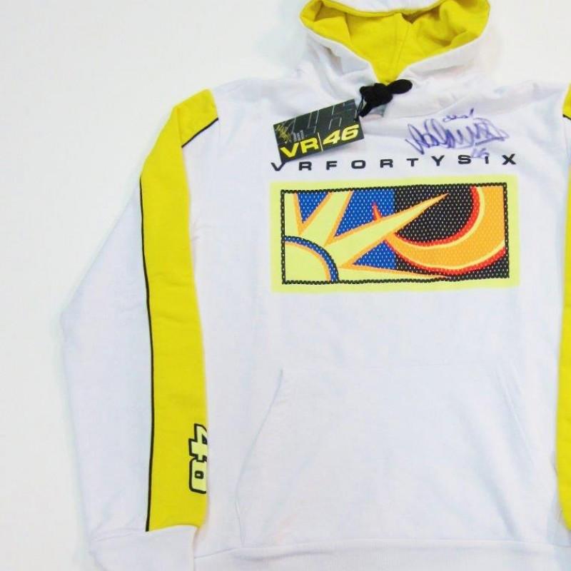 Valentino Rossi 46 sweatshirt - signed