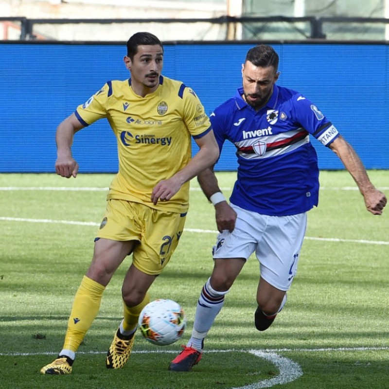 Quagliarella's Worn Shirt, Sampdoria-Hellas Verona, Special #8march