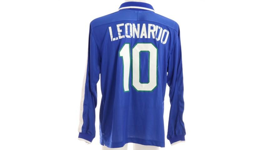 Leonardo's Brazil Match Shirt, 1997/98