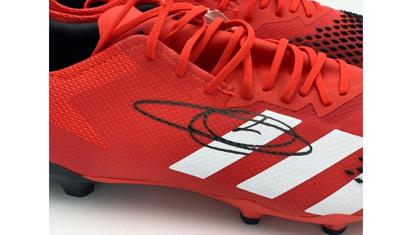 Adidas Predator Boots - Signed by Zinedine Zidane