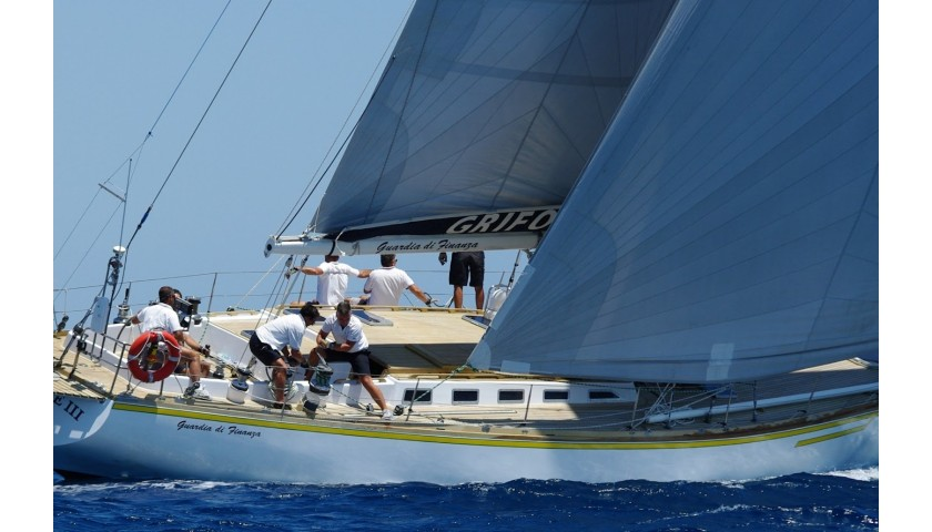 Sailing Experience for Two aboard the Grifone with Fiamme Gialle Athletes