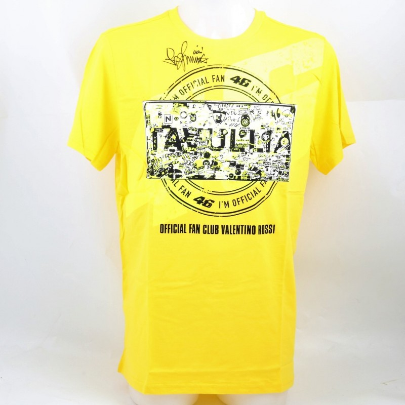 Official Valentino Rossi Fan Club Shirt, Signed