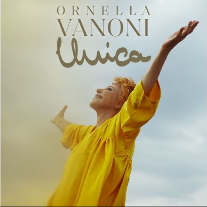 "Ornella Vanoni ""Unica"" Signed CD"