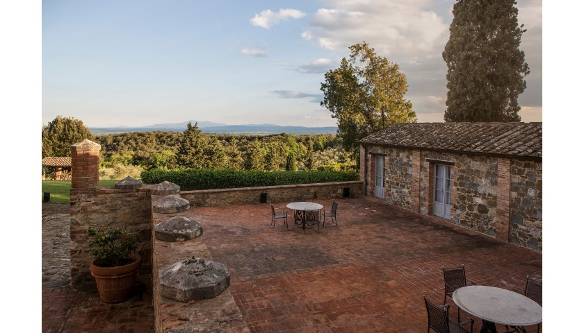 Enjoy a One-Night Stay and Dinner for Two at Borgo Scopeto Relais