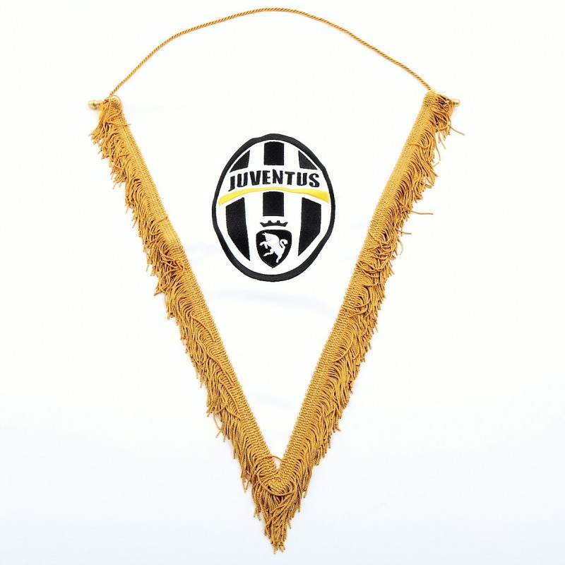 Juventus FC Pennant Signed by Chiellini