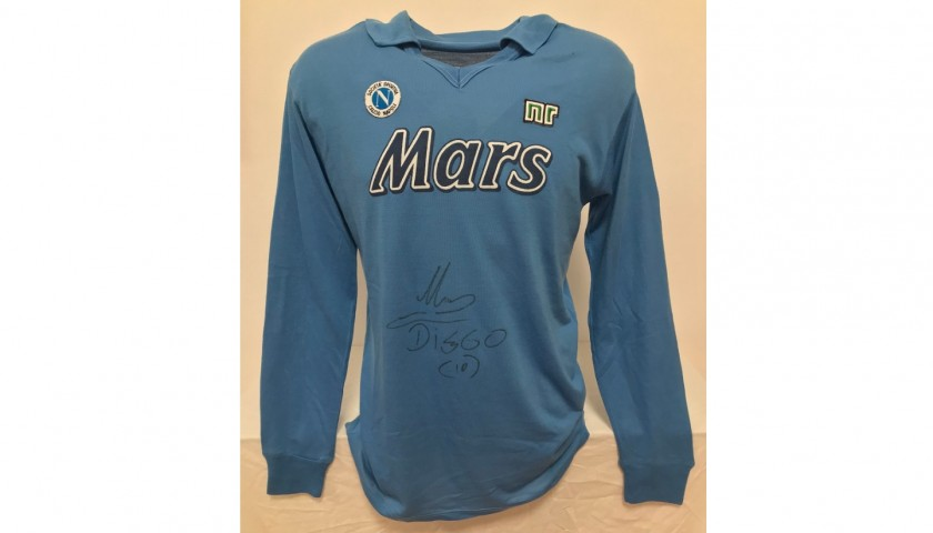 Maradona's Official Napoli Signed Shirt, 1989/90