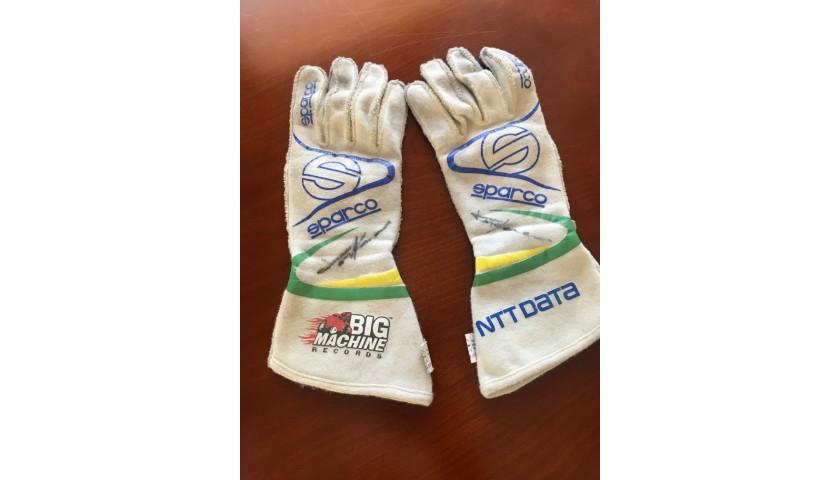 Tony Kanaan's Championship Racing Gloves