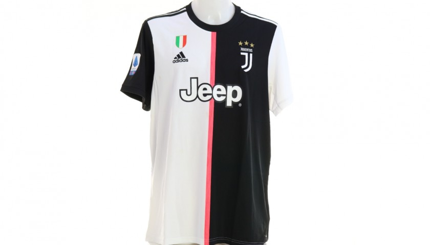 Chiellini's Official Juventus Signed Shirt, 2019/20