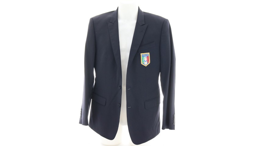 Italy National Football Team Suit Worn by  Ciro Immobile