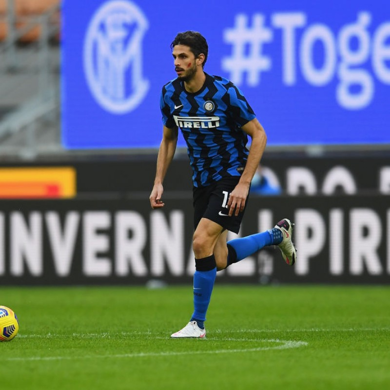 Ranocchia's Inter Signed Match Shirt, 2020/21