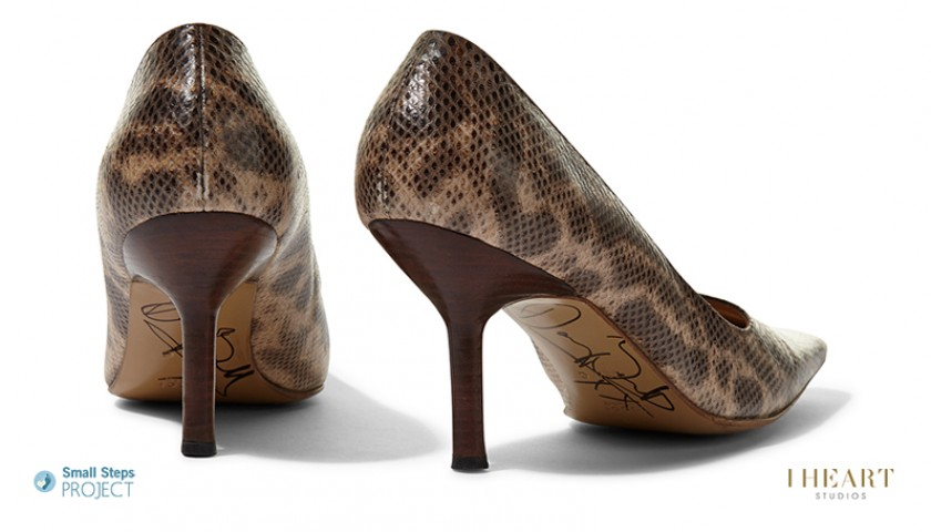 Darcey Bussell Signed Shoes