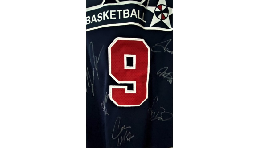 Official USA Jersey, Dream Team 1992 - Signed by the Legends