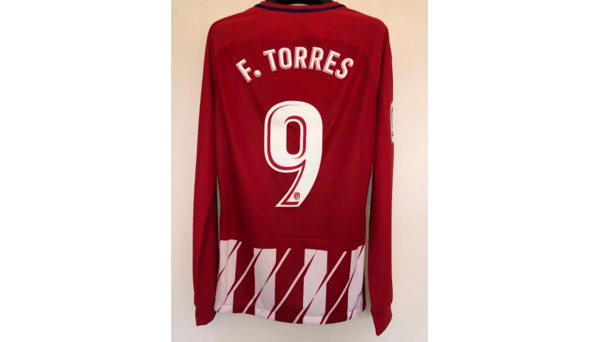 Torres's Match Shirt, Atletico Madrid-Eibar - Torres Last Match