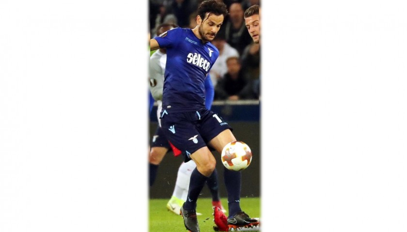 Nike Boots Worn by Marco Parolo + Serie A Football