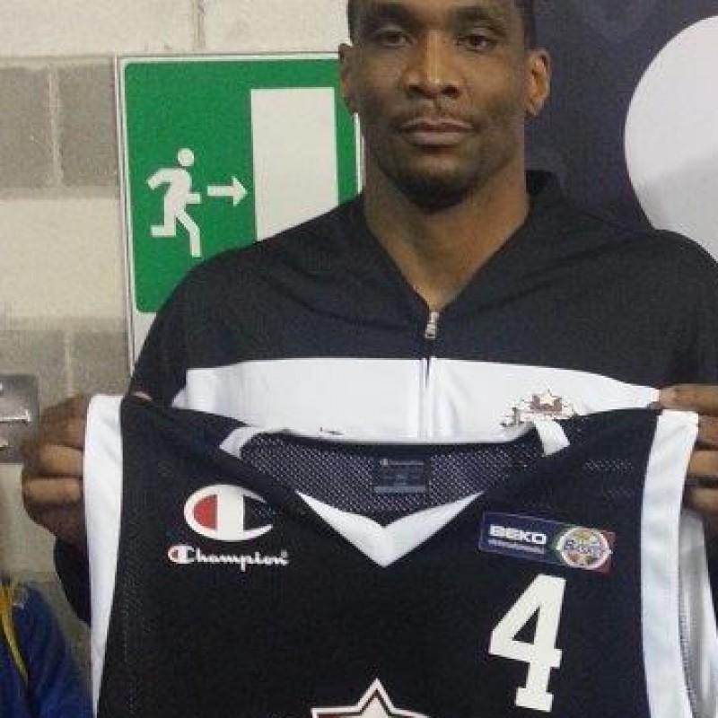 White worn signed shirt - All Star Game BEKO 2014