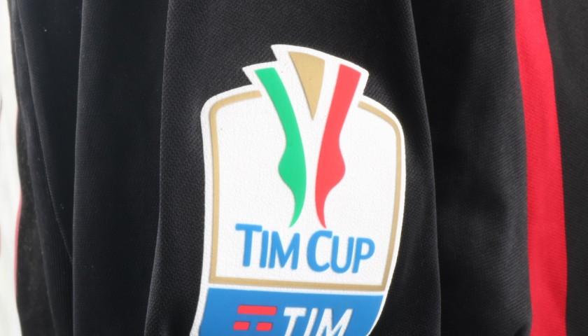 Antonelli Match Worn Shirt, Juventus-Milan 25/01/17 - UNWASHED