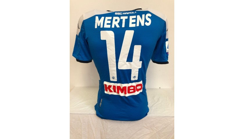 Mertens' Worn and Unwashed Shirt, Napoli-Lazio 2020