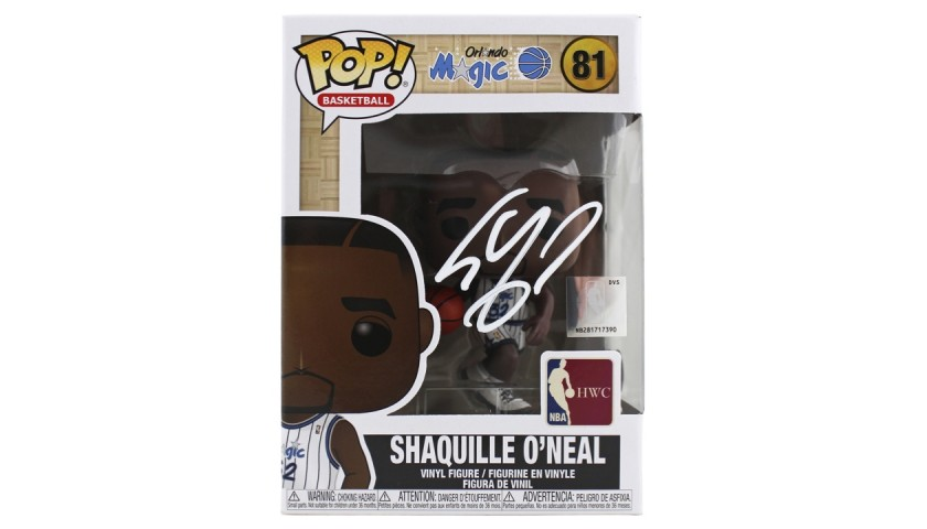 Shaquille O'Neal Signed Funko Pop! Figure