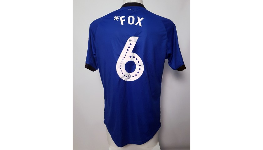 the best attitude d3f12 613d7 Morgan Fox's Sheffield Wednesday Worn and Signed Poppy Home Shirt -  CharityStars