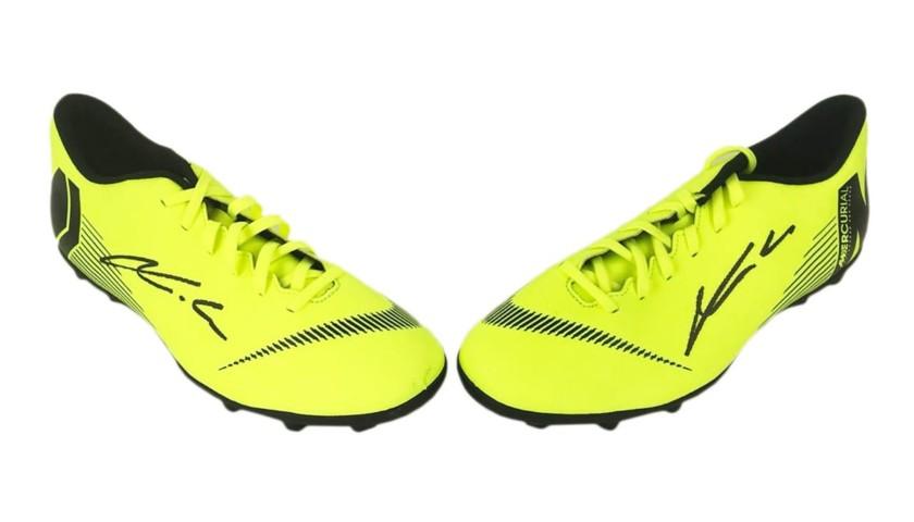 Nike Boots Signed by Luka Modric