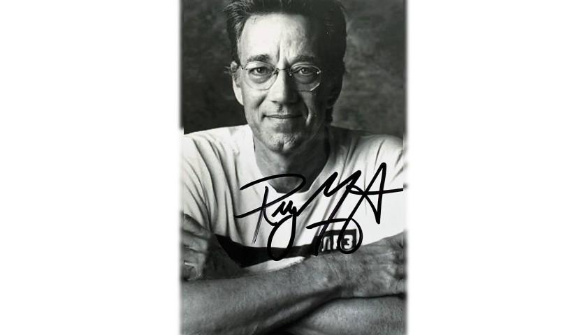 Ray Manzarek Signed Photograph