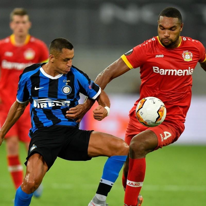 Sanchez's Match Shirt, Inter-Bayer Leverkusen 2020