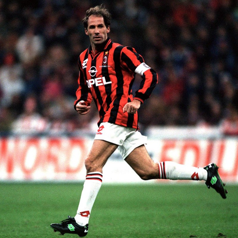 Baresi's Milan Signed Match Shirt, 1995/96