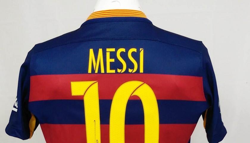 info for d72fc df43d Official Messi FC Barcelona shirt, Liga 2015/2016 - signed ...
