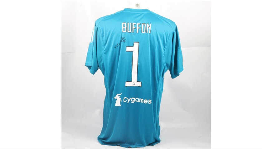 Signed Official Buffon Juventus Shirt, 2017/18