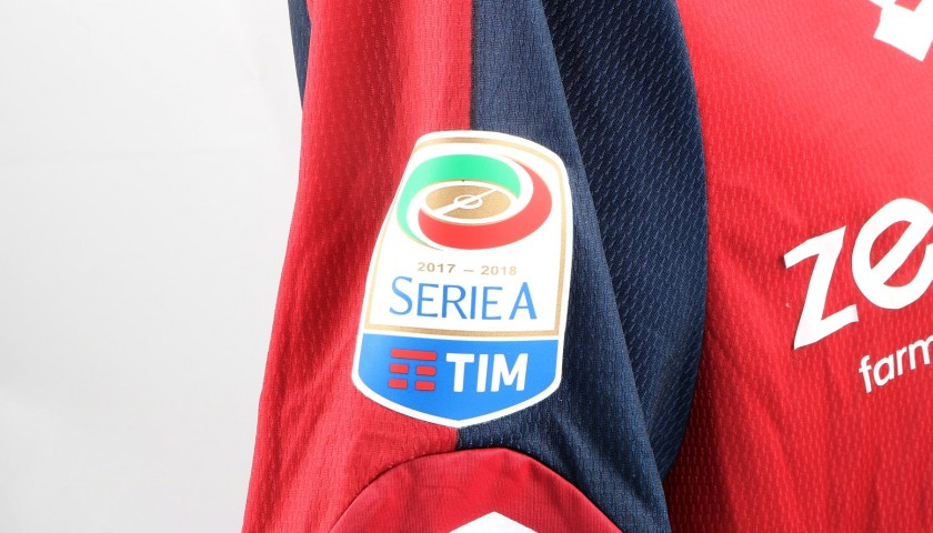 Rosi's UNWASHED Special Genoa-Sampdoria Match-Worn Shirt