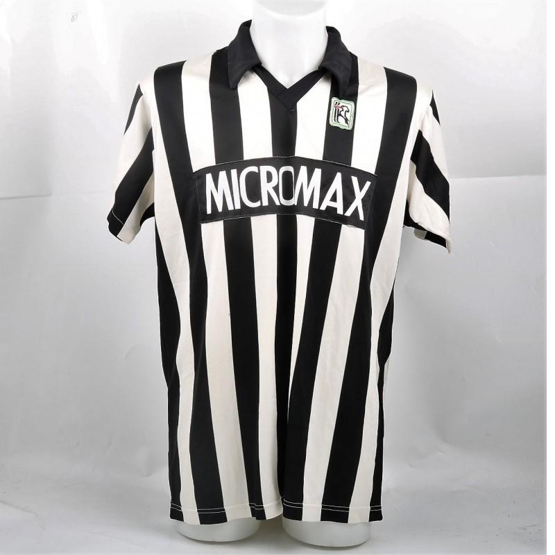 Mustafa Arslanovic's Friendly Match-Worn Ascoli Shirt, 1988/89
