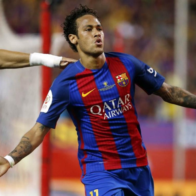 Neymar's Match Shirt Barcelona, Copa del Rey Final 2017