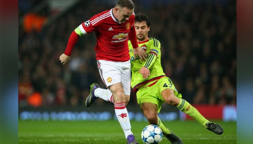 Rooney's Match Shirt, Manchester United-CSKA 2015