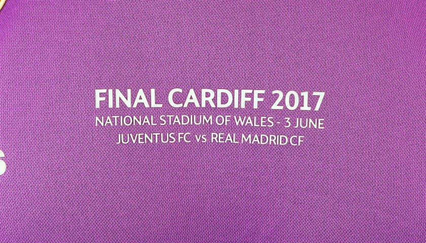 Ronaldo's Match Shirt, Juventus-Real Madrid, Cardiff Final 2017